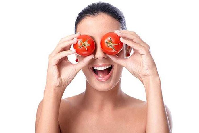 Tác dụng của cà chua đối với da