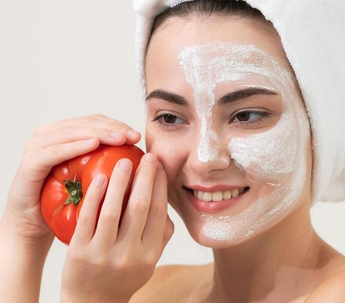 Cà chua giúp tạo độ đàn hồi cho da