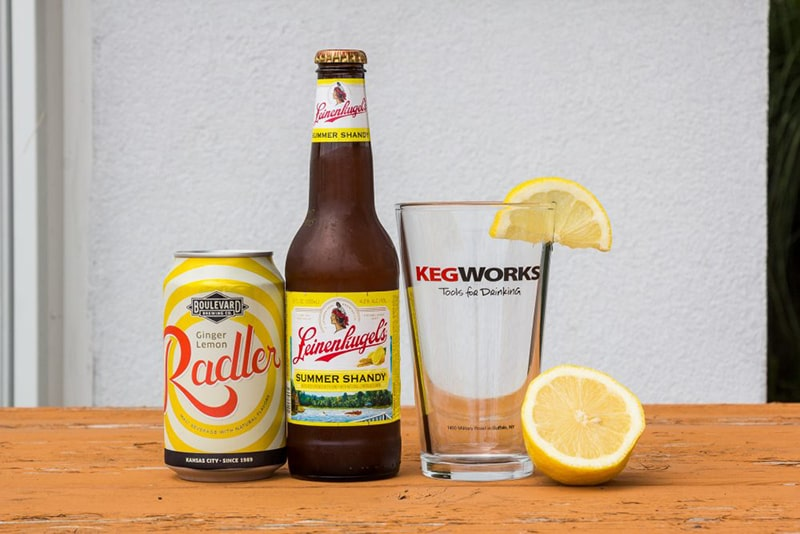 Làm trắng da bằng bia tươi và nước cốt chanh