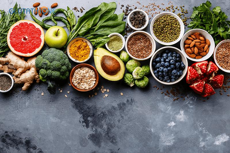Glutathione có ở trong rất nhiều các loại thực phẩm hàng ngày