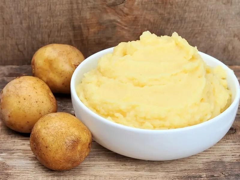 Mặt nạ khoai tây chống lão hóa da