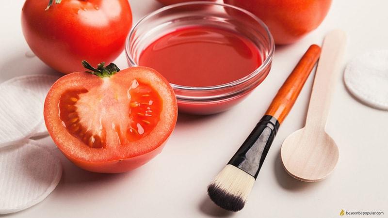 Dưỡng ẩm cho da dầu với cà chua