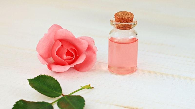 Nước hoa hồng giúp thu nhỏ lỗ chân lông ở da dầu