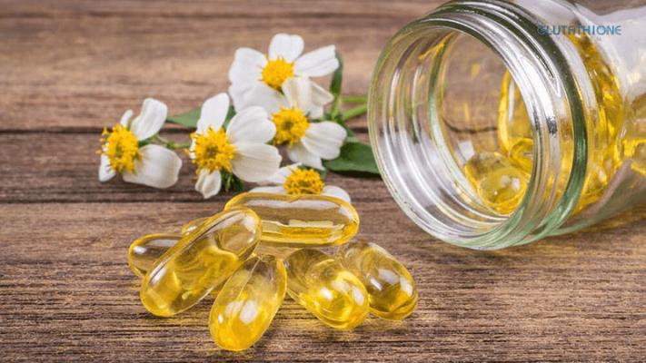 Da dầu có nên uống Vitamin E không?
