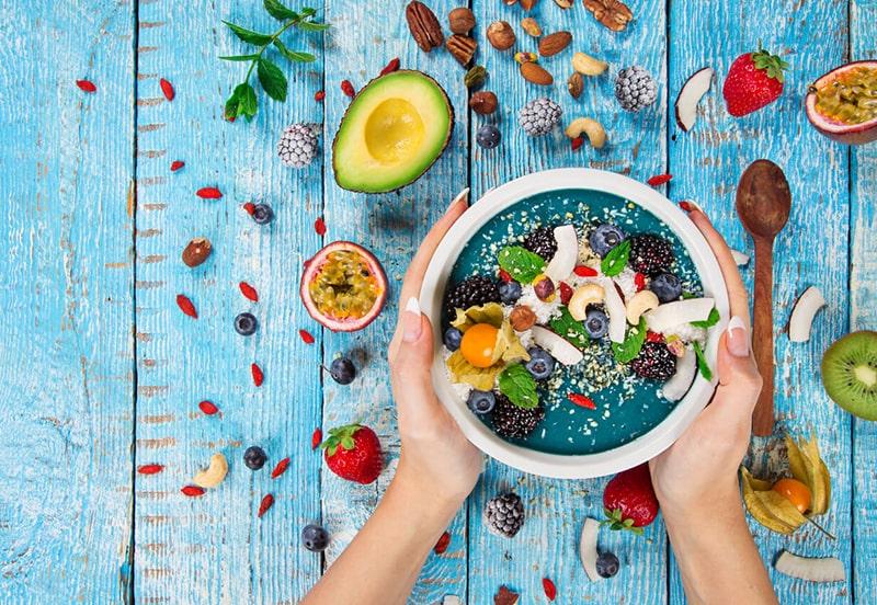 Tăng cường các thực phẩm có khả năng chống lão hóa
