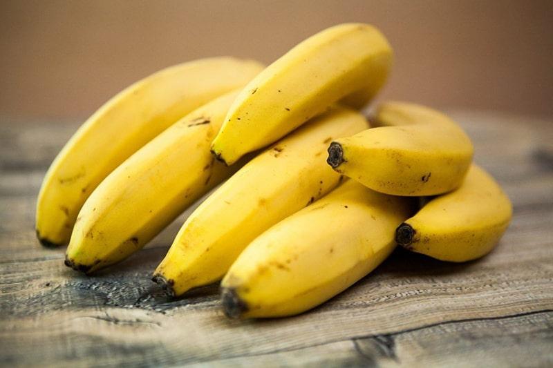 Quả chuối là 1 trong những loại trái cây chống lão hóa da hiệu quả