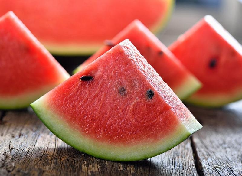 Quả dưa hấu là 1 trong những loại trái cây chống lão hóa da hiệu quả