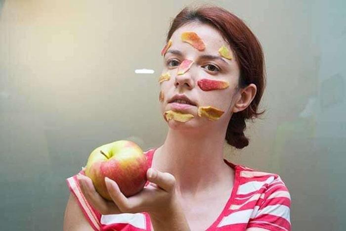 Mặt nạ táo chống lão hóa da hiệu quả