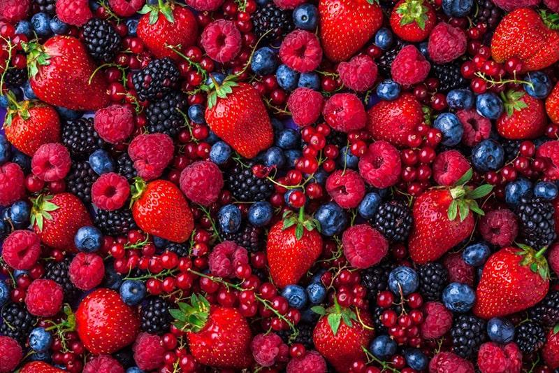 Thực phẩm thuộc nhóm quả mọng có khả năng chống oxy hóa hiệu quả