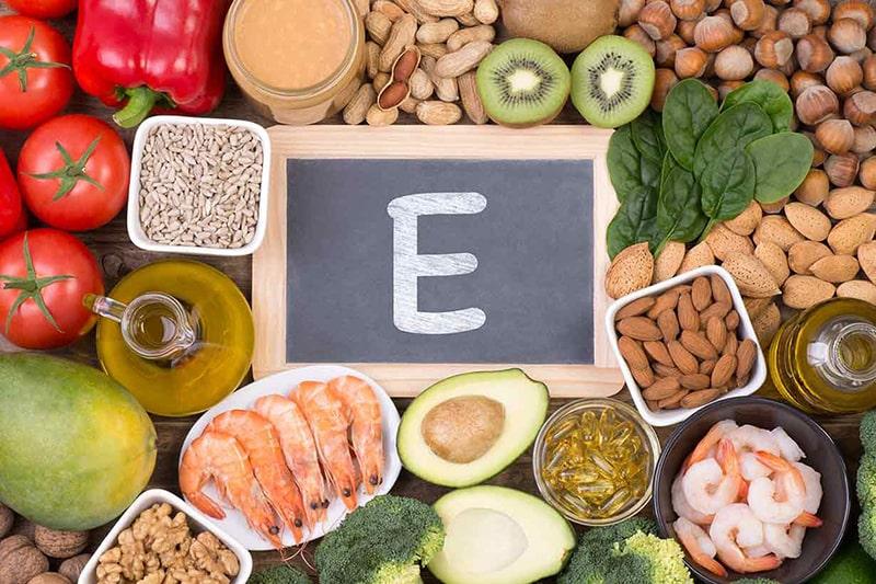 Các thực phẩm giàu vitamin E có tác dụng làm giảm sắc tố melanin