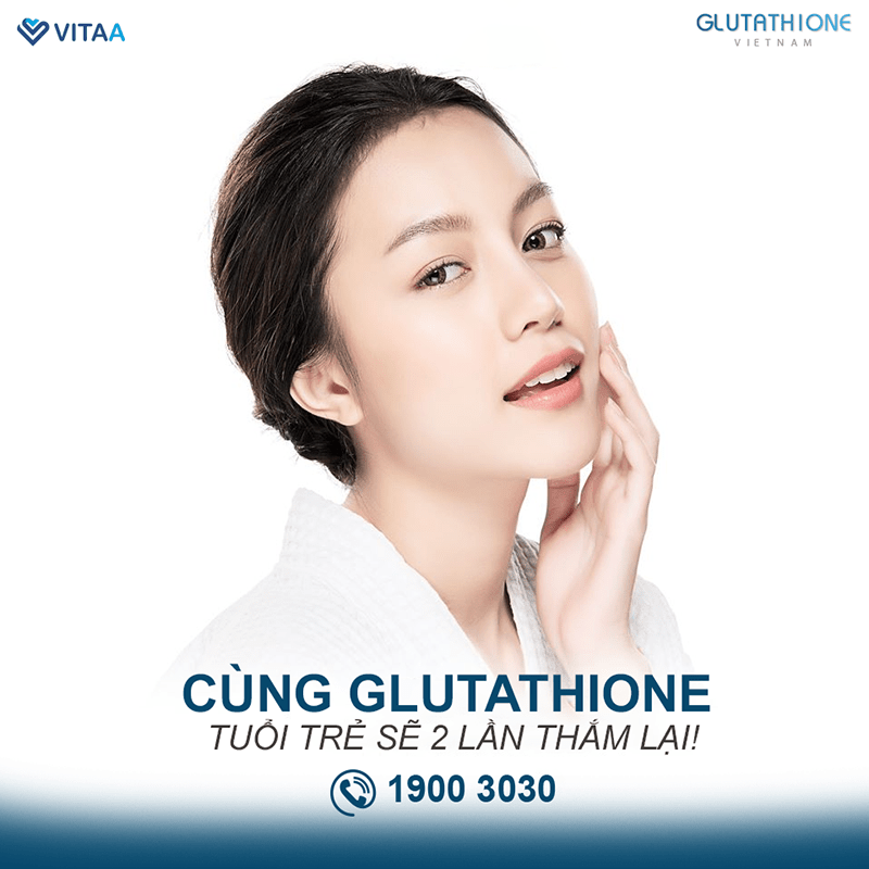 Da khô cần bổ sung Glutathione để chống lão hóa da