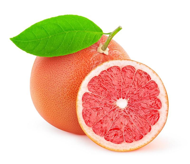 Quả bưởi giàu vitamin C và chất chống oxy hóa bảo vệ da, ngăn ngừa mụn