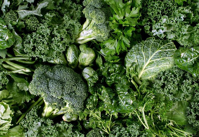 Ăn nhiều rau xanh giúp làm giảm tình trạng viêm mãn tính