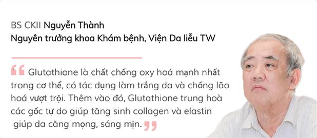 BS CKII Nguyễn Thành - Nguyên trưởng khoa khám bênh, viện Da liệu TW nói về Glutathione
