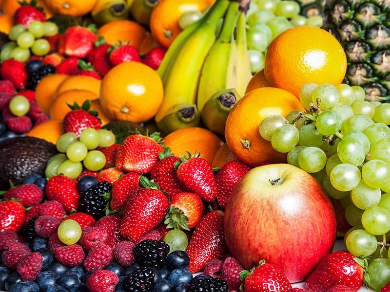 Trái cây và rau củ quả rất tốt cho da mụn