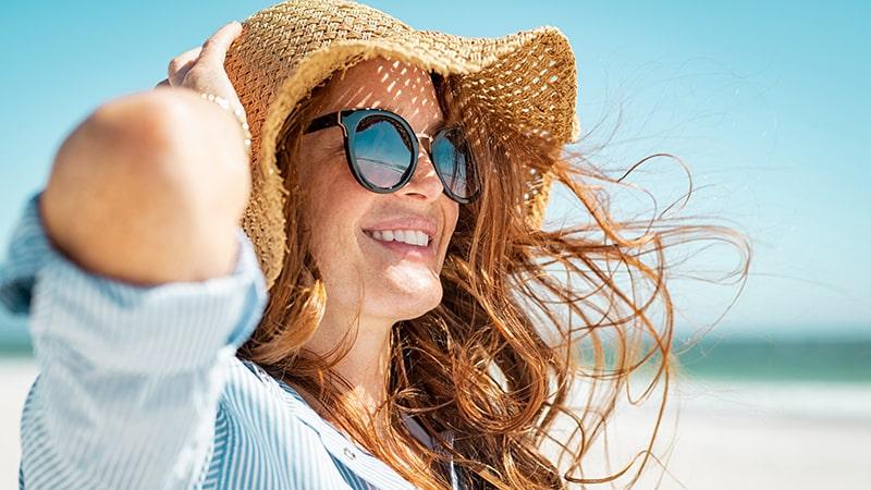 Hạn chế tiếp xúc da dưới ánh nắng mặt trời