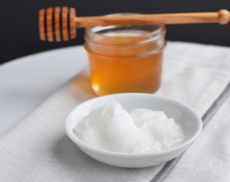 Làm đẹp da bằng mật ong và dầu dừa
