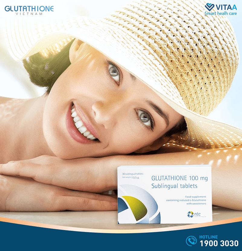 Viên ngậm trắng da Glutathione là biện pháp chăm sóc da, ngừa lão hóa tuổi 30 hiệu quả