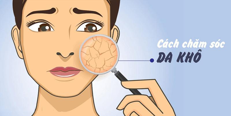 Chăm sóc da khô như thế nào?