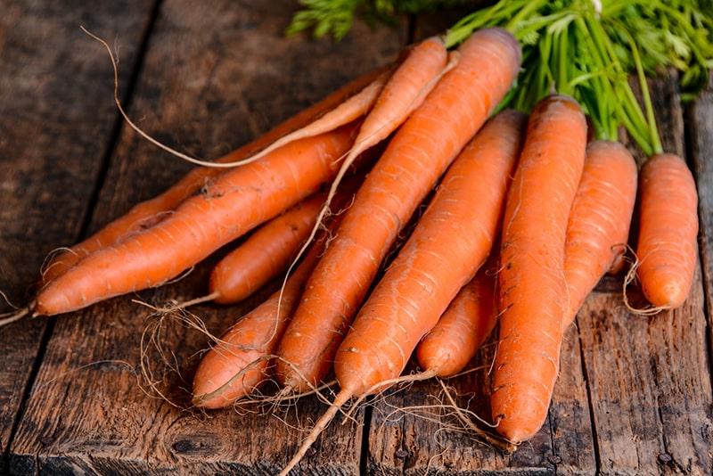 Cà rốt là thực phẩm có giá trị dinh dưỡng cao rất tốt cho làn da
