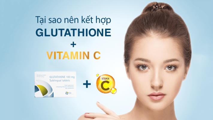 Tại sao nên kết hợp Vitamin C khi sử dụng Viên ngậm Glutathione để tăng hiệu quả làm trắng da?